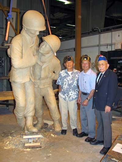 Vets and Sculpture