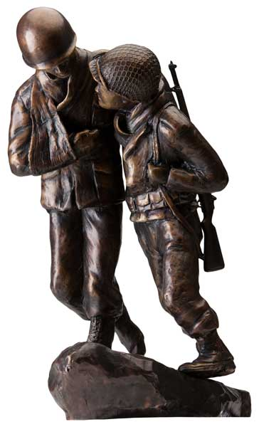 "Bronze Maquette - ""Rescue of the Lost Battalion"""